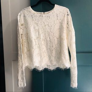 Nordstrom Lace Long sleeve Top